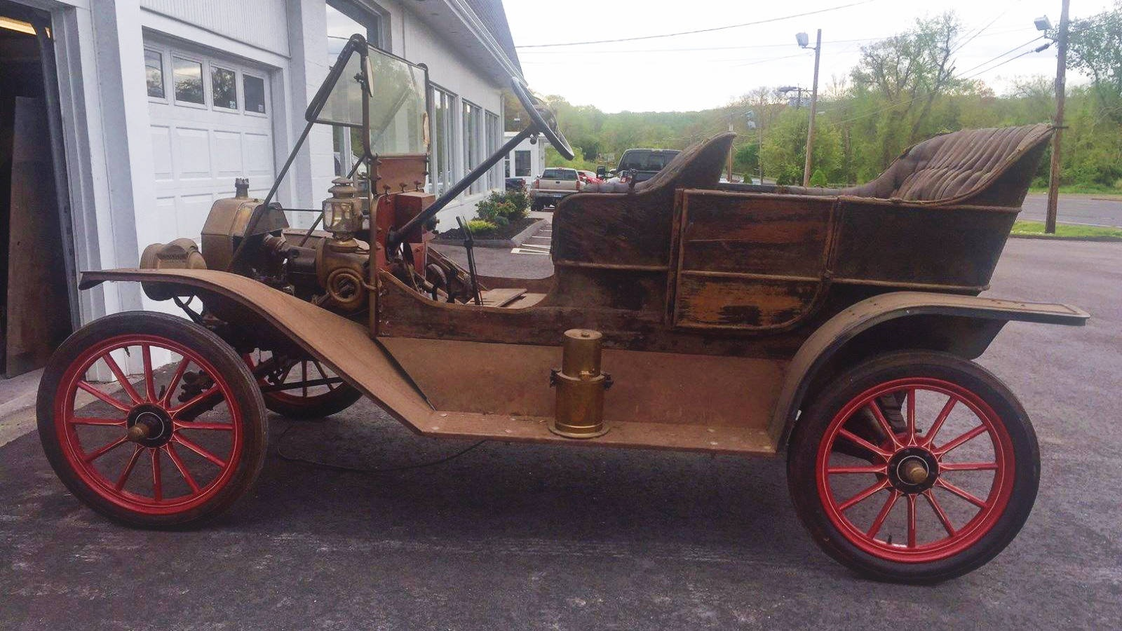 Expensive Tin  1909 Ford Model T Touring