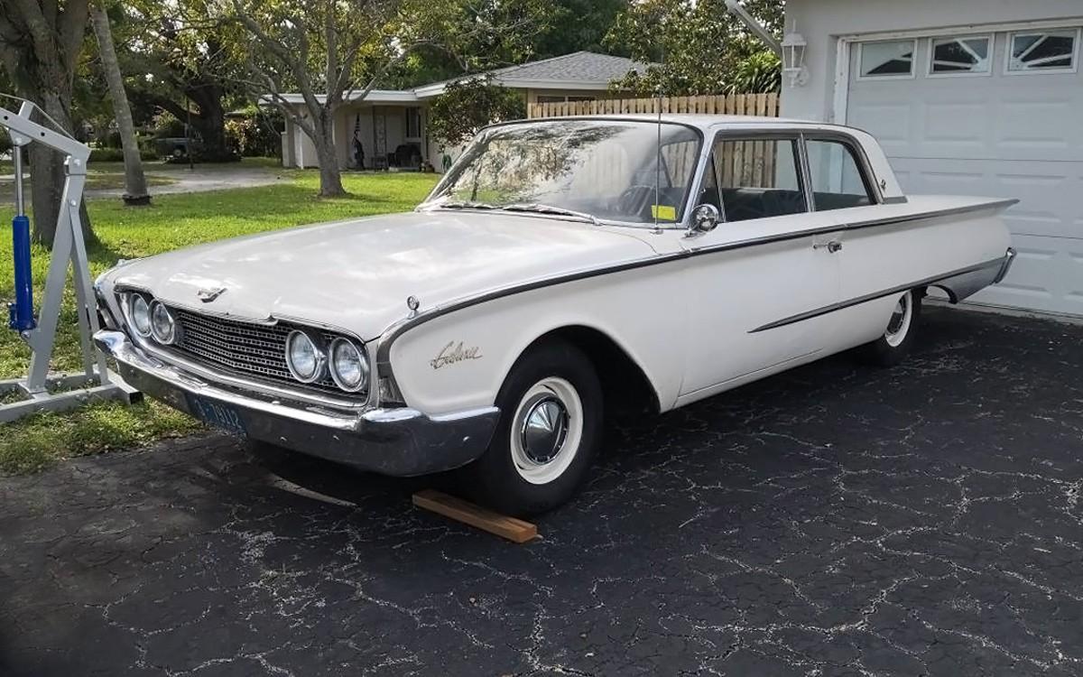 Garaged 43 Years 1960 Ford Galaxie
