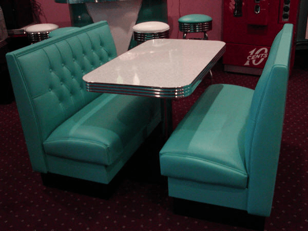 Diner Booth Sets Retro Diner Booths 50s