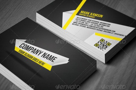 25 QR Code Business Card Templates   Web   Graphic Design   Bashooka qr code business card templates 26