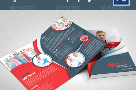 30 Best Brochure Templates 2013   Web   Graphic Design   Bashooka Bifold Corporate Brochure