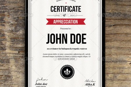 35 Best Certificate Template Designs   Web   Graphic Design   Bashooka Simple Certicates  Download Template