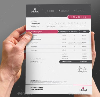 invoice design inspiration   Toma daretodonate co invoice design inspiration