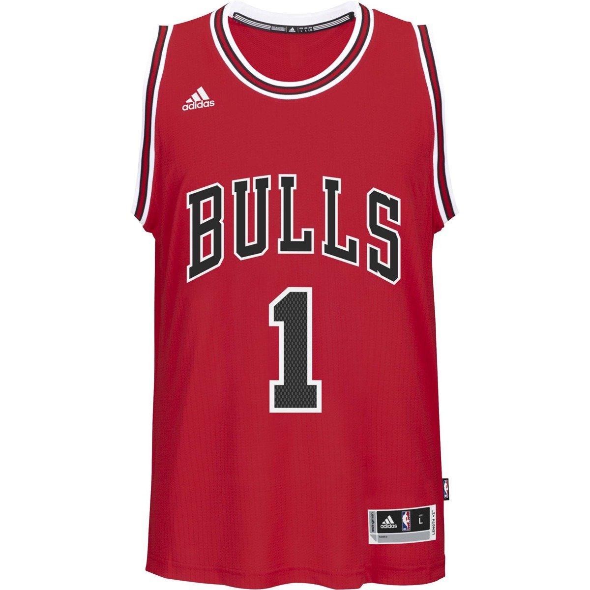 Adidas Swingman Derrick Rose Chicago Bulls NBA Jersey ...