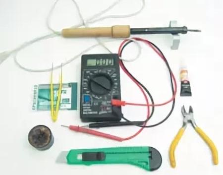 Herramientas para la reparación AKB