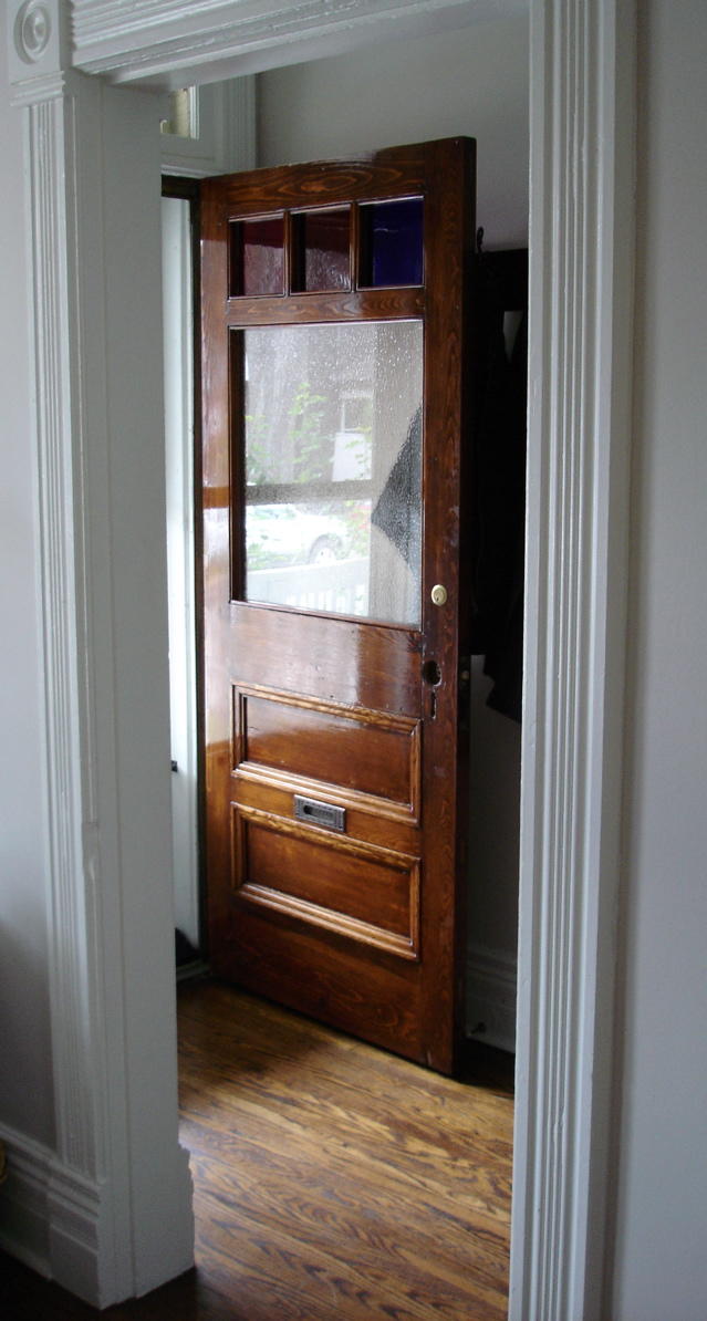 Refinishing An Antique Door 1889 Bay And Gable Victorian