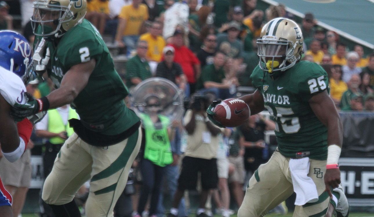 Bears Chasing First Big 12 Title The Baylor Lariat
