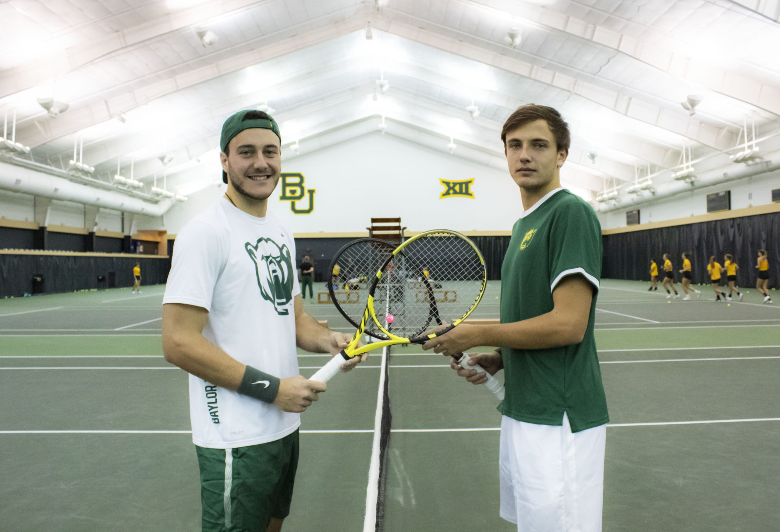 Brotherly Love On Off The Tennis Court The Baylor Lariat