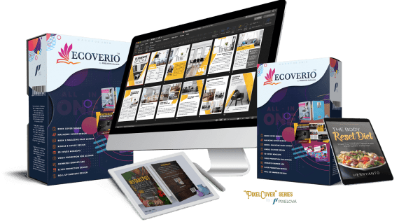 eCoverio: Easy Create eBook Cover In Minutes