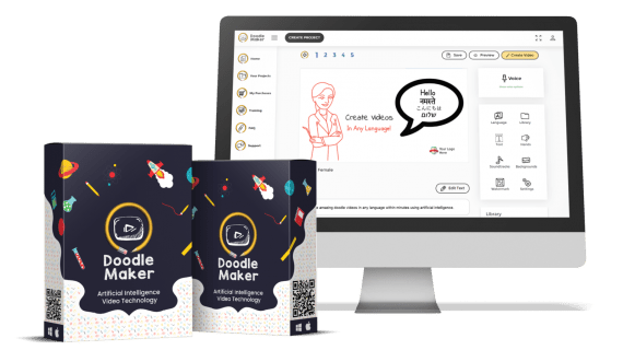 Doodle Maker – Futuristic Artificial Intelligence Technology