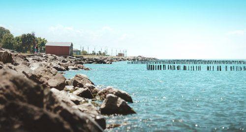Pantai Laut Hitam.