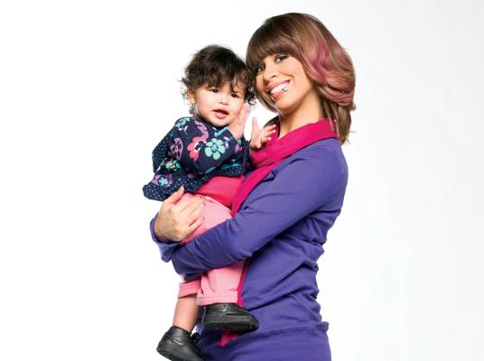 Kandi Burruss And Her Daughter