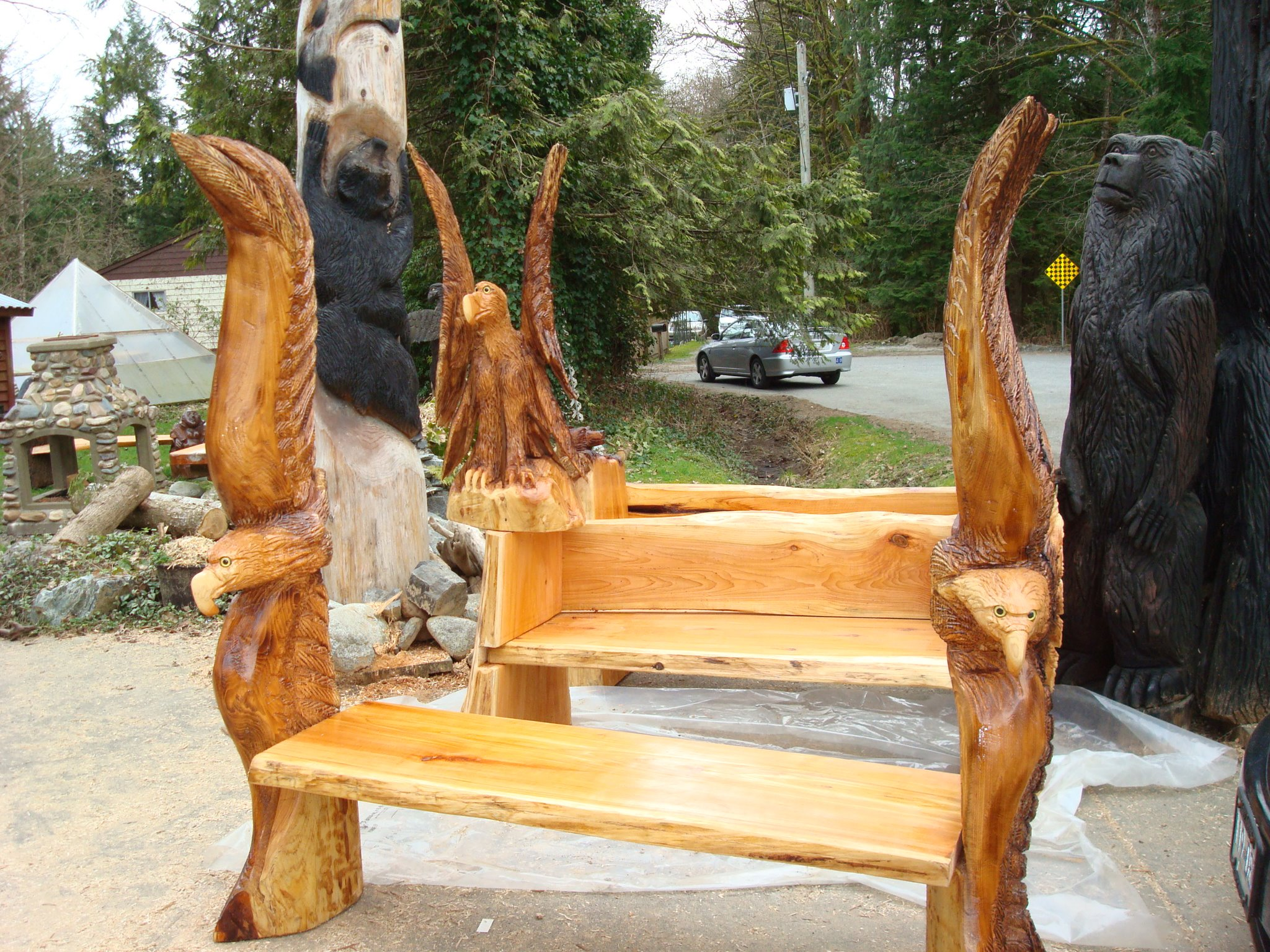 Steve Turnbull Master Carver Canadian Carver And