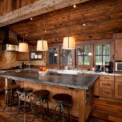 Log Cabin Kitchens Cabinets Amp Ideas In 2020