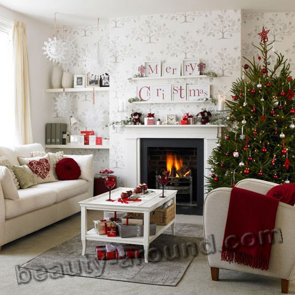 New Year   Christmas home design  30 photos