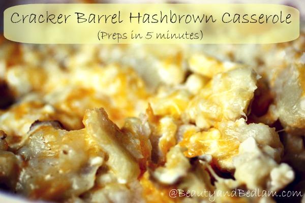 Cracker Barrel Restaurant Recipes