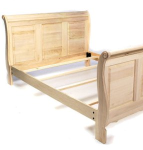 Sleigh Bed Plans   BED PLANS DIY   BLUEPRINTS Sleigh Bed Plans