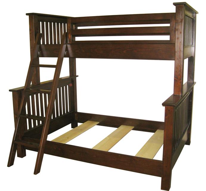 Woodwork Double Over Queen Bunk Bed Plans Pdf Plans