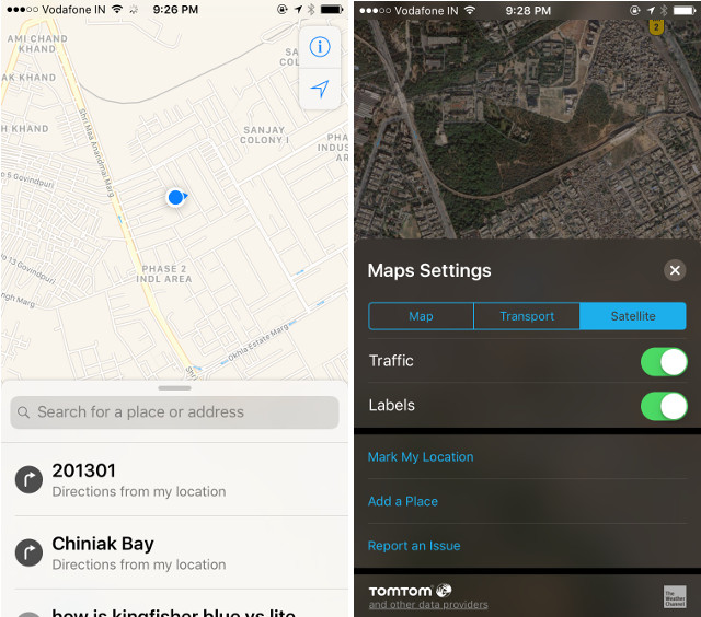 10 Best GPS and Navigation Apps for iPhone  2016    Beebom If you re using a car equipped with an Apple CarPlay system  then using  Apple Maps gets even better  As soon as you park your car  and get out of  it