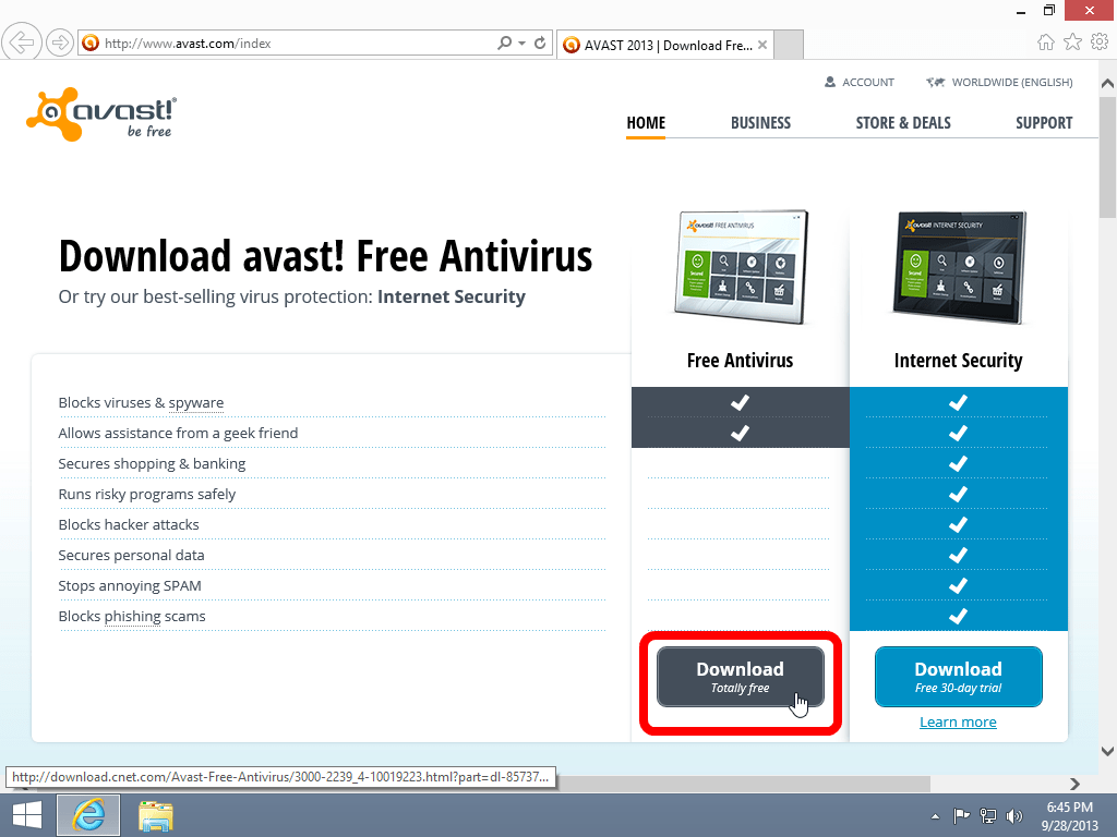 Free Virus Protection