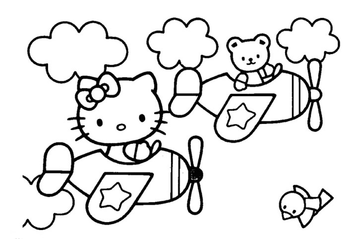 free hello kitty coloring book 20 728