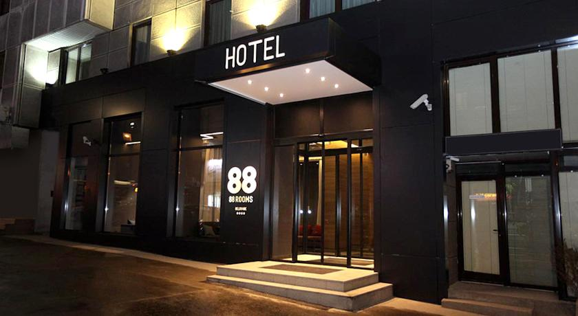 88 Rooms Hotel Belgrade My Way