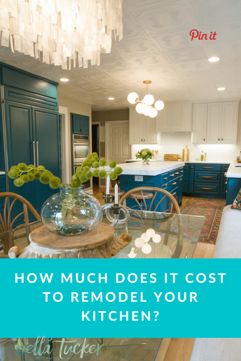 How Much Does It Cost Redo Kitchen