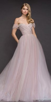 Princess Ball Gown Wedding Dresses for a Fairytale Wedding   Belle     Princess Ball Gown Wedding Dress   Blush by Hayley Paige