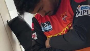 IIPL 2021: চেয়ার বসেই ঢুলছেন Manish Pandey! সামনে এল সেই ভিডিও