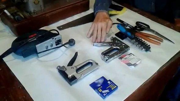 Mga tool sa pagpapanumbalik at pagmamanupaktura ng kasangkapan