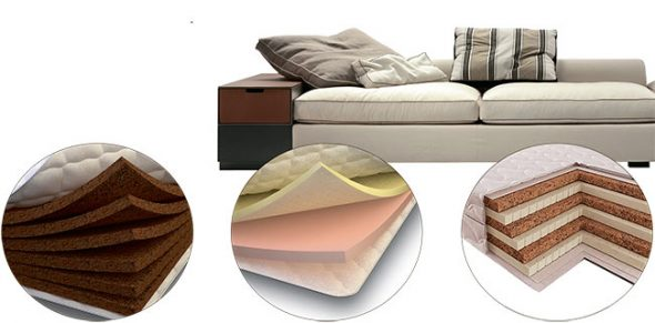 Mga uri ng tela para sa upholstery ng kasangkapan