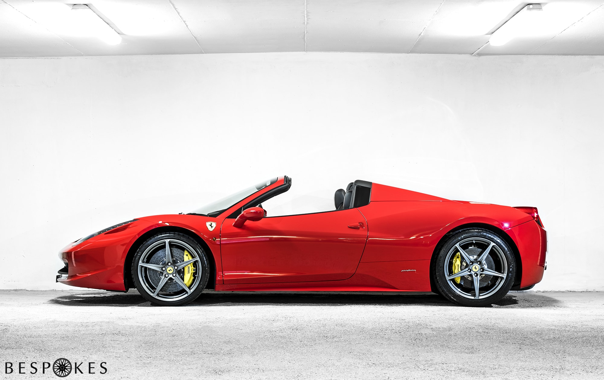Ferrari 458 Spider Hire – Nationwide Delivery | Bespokes