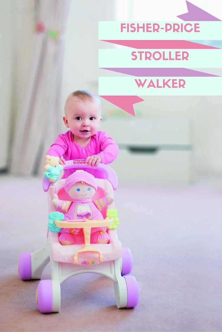 Fisher Price Doll Walker Stroller