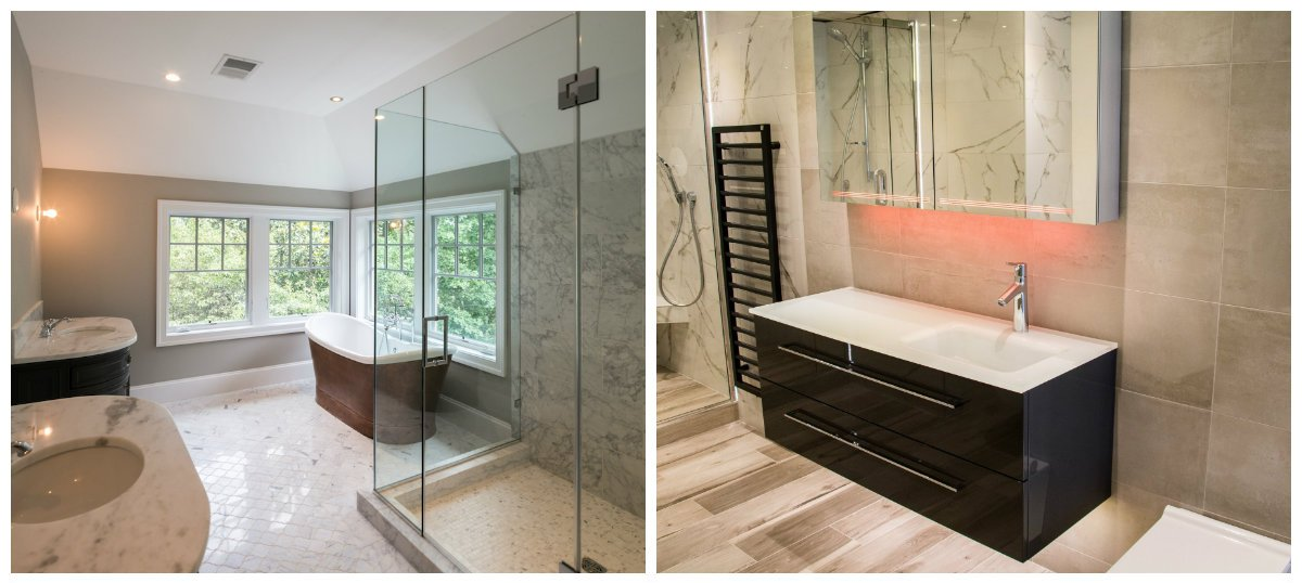 Bathroom trends 2018  fashion trends and solutions for bathroom design bathroom trends 2018  stylish trends  tips and tricks of bathroom design