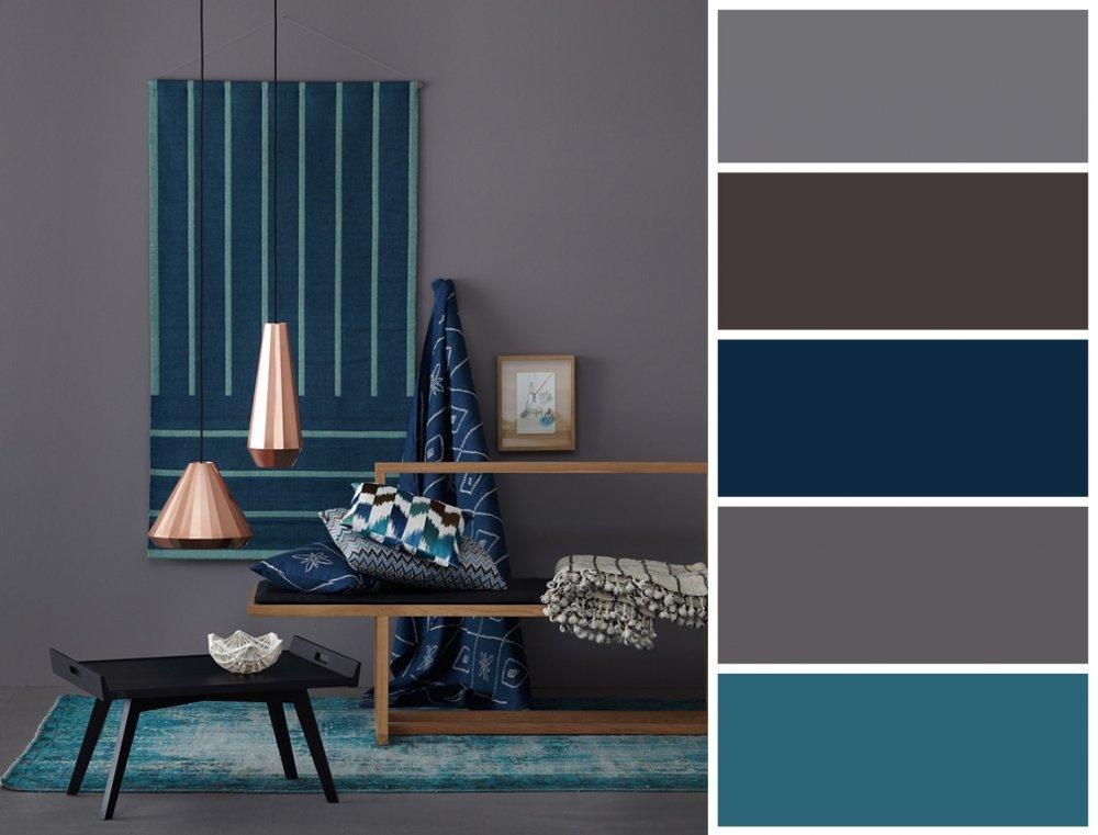 Si gris et bleu sont combinés - voir!