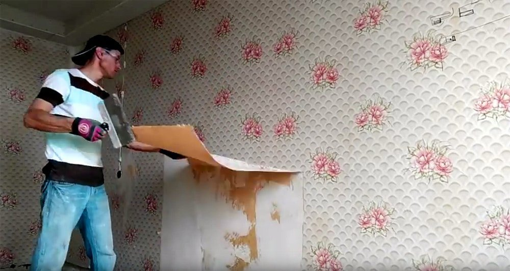 Cara termudah untuk menghapus wallpaper lama