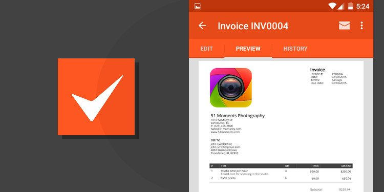 5 Best Invoicing Apps for Android     Simple  Minimal  Powerful android apps for invoicing
