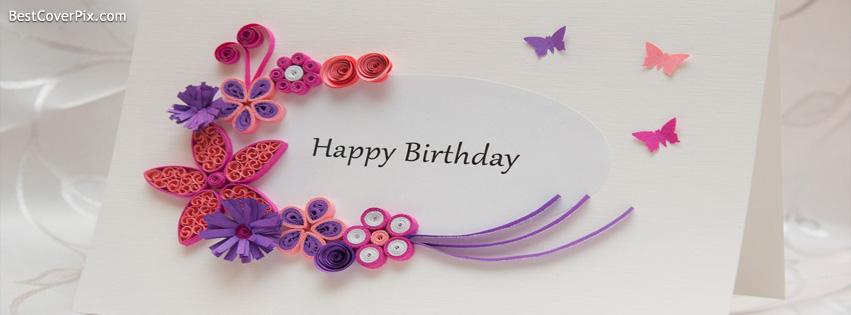 Happy Birthday Facebook Profile Cover Photo