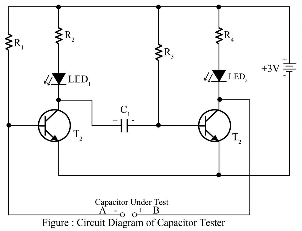 Single Transistor Led Flasher Circuit