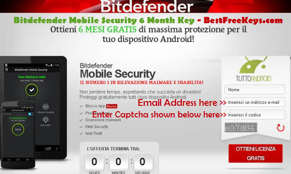 Mobile Security License Key