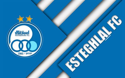 Download Wallpapers Esteghlal Fc 4k Iranian Football
