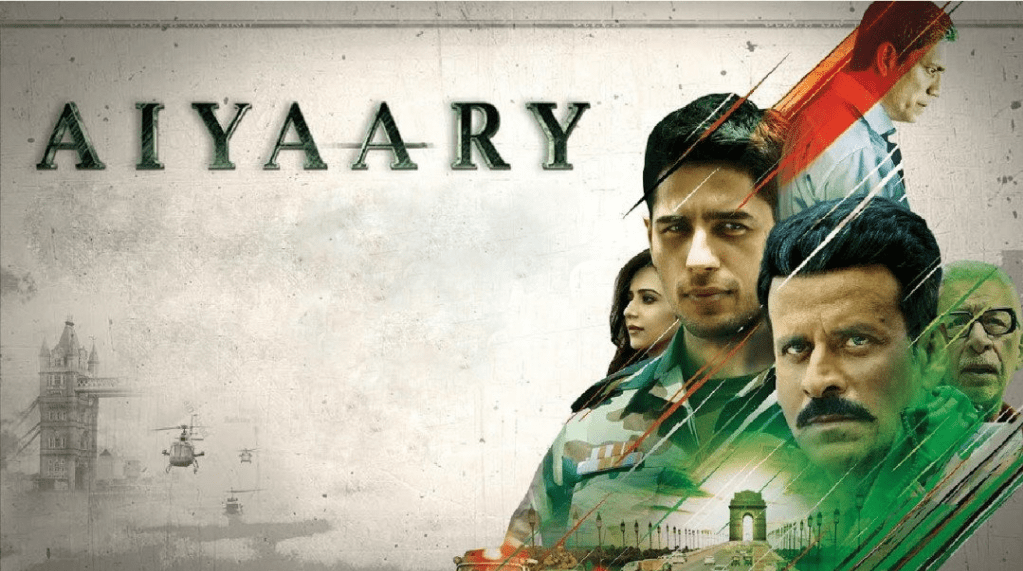 Aiyaary Cast, Reviews, release date, story, budget, box office, Songs, Scenes