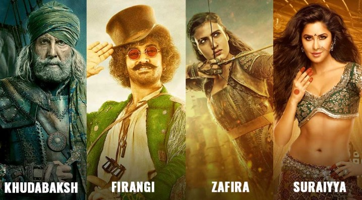 Thugs Of Hindostan Cast