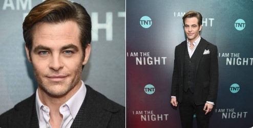 Chris Pine attends the 'I Am The Night' New York Premiere at Metrograph on January 22, 2019 in New York City