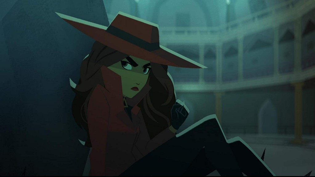 Carmen Sandiego TV Series (2019) Scenes
