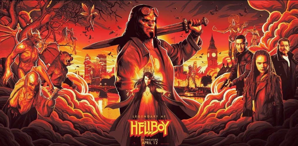 Hellboy (2019) Cast, Release date, Plot, Budget, Box office