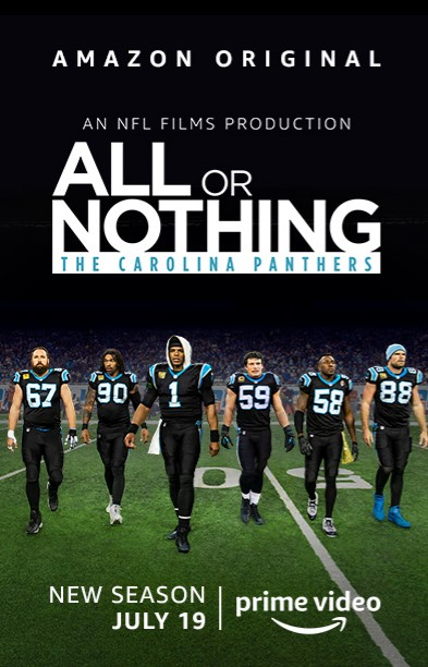 All or Nothing: Carolina Panthers TV Series (2019) Poster
