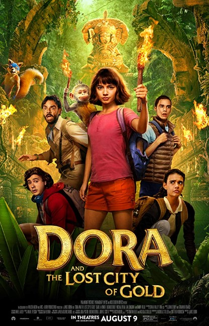 Dora and the Lost City of Gold (2019) Poster