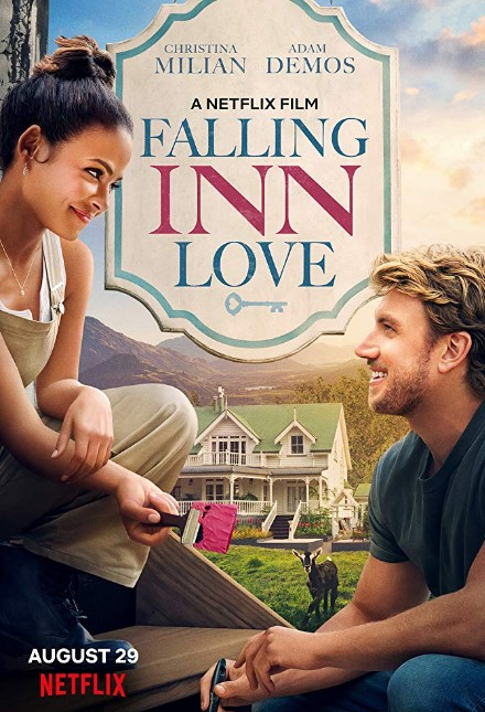 Falling Inn Love Netflix Movie Poster