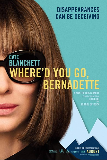 Where'd You Go Bernadette (2019) Poster